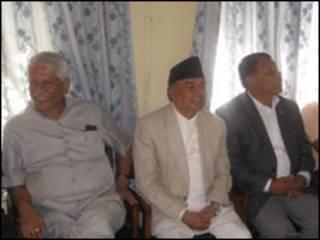 नेपाली कांग्रेसका नेताहरु