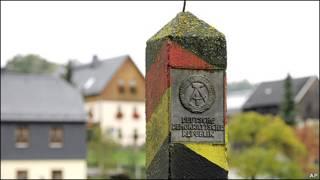 میله مرزی سابق میان دو آلمان