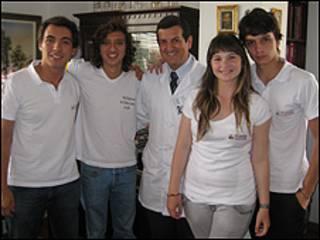 Integrantes de la Red Colombiana de Jóvenes Líderes en Salud Sexual y Reproductiva