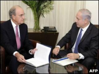 میچل و نتانیاهو