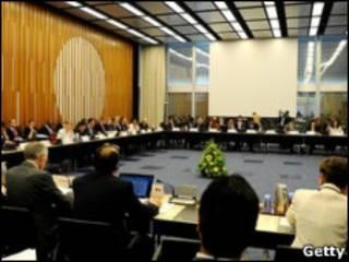 Зал заседаний в Тяньцзине