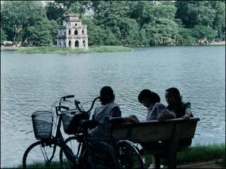 Hồ Gươm-ảnh của Bùi Văn Phú