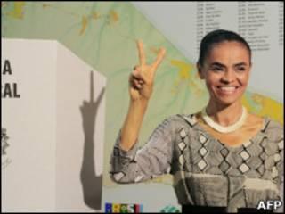 Marina Silva, candidata do Partido Verde