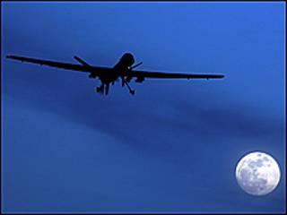 طائرة امريكية من النموذج المستخدم في وزيرستان