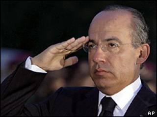 Shugaba Felipe Calderon