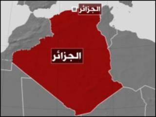 خارطة الجزائر
