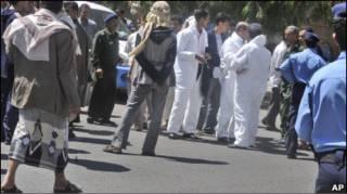 На місці події у Ємені