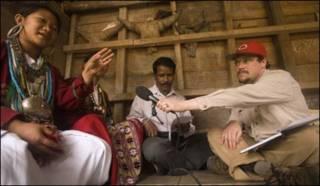 कोरो बोलने वाला अरुणाचल का एक आदिवासी परिवार