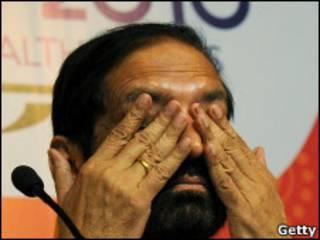 Глава Олимпийской ассоциации Индии Суреш Калмади