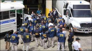 Агенты ФБР на операции в Пуэрто-Рико