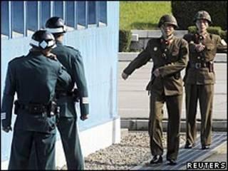 الحدود الكورية