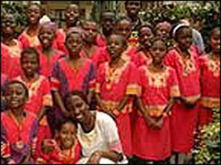 تلاميذ في مدرسة في كينيا