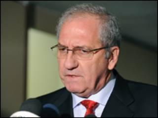 O ministro da Secretaria de Comunicação Social da Presidência, Franklin Martins (Abr/Arquivo)
