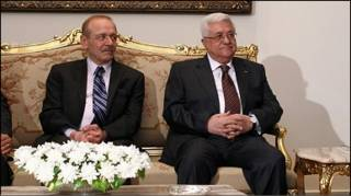 الرئيس الفلسطيني وياسر عبد ربه