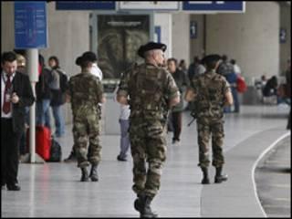 قوات امن اوروبية