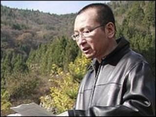 Liu Xiaobo em foto de outubro de 2008