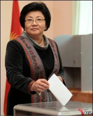 Президент Роза Отунбаева