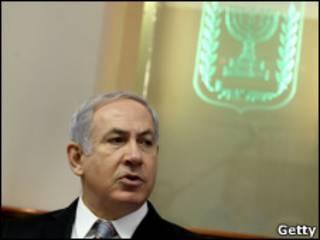 نتنياهو خلال الاجتماع الأسبوعي لحكومته