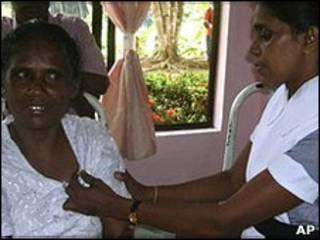 خانم آریاواثی در بیمارستان