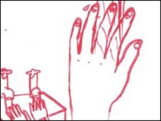 desenho feito por jovens retratanto o transtorno