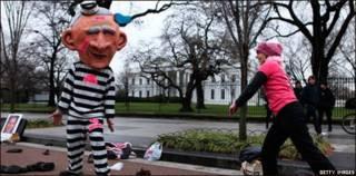 Protesta de Code Pink