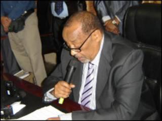 Madaxweynaha Somaliland  Axmed Maxamed Maxamuud