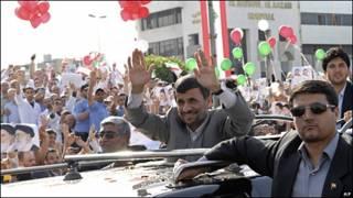Visita de Ahmadinejad a Líbano
