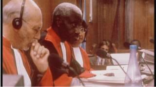 Abacamanza bo mu rukiko mpuzamahanga rwa Arusha