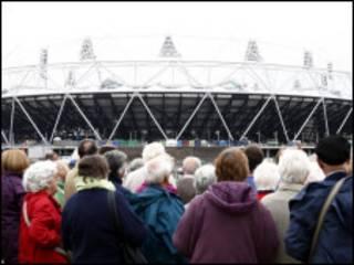 伦敦奥运会体育场外