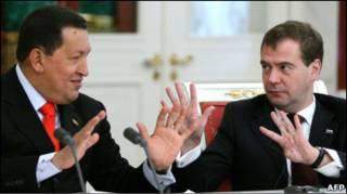 Медведєв і Чавес