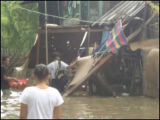 Mandalay flood