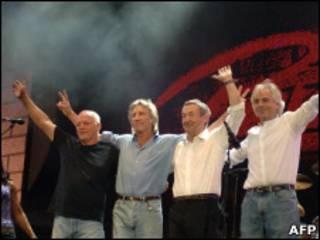 Pink Floyd в 2005 году