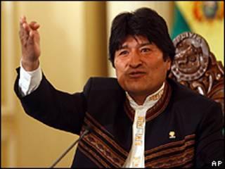 ایوو مورالس، رئیس جمهور بولیوی
