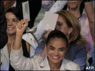 """Senadora criticou """"dualidade destrutiva"""" entre PT e PSDB. Foto: AFP"""