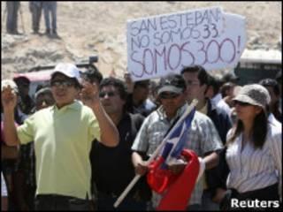 Protesto de mineiros