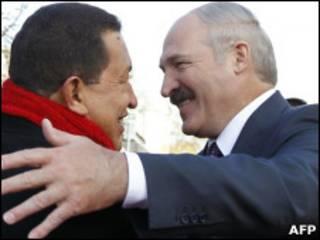 Чавес и Лукашенко