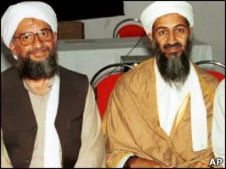 اسامه بن لادن او ایمن الظواهري