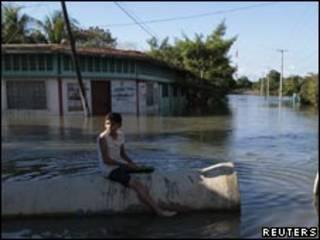 Inundaciones en Nicaragua