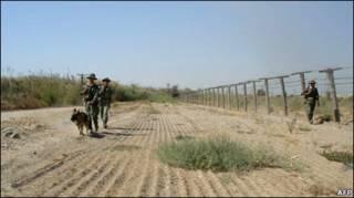 Таджикские пограничники