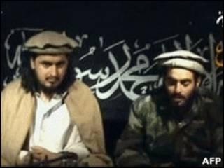 तालिबान नेता हकीमुल्ला महसूद के साथ अल बलावी