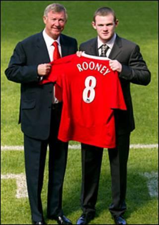 Ông Ferguson ký mua Rooney năm 2004