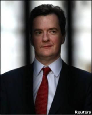 O ministro das Finanças britânico, George Osborne (arquivo)