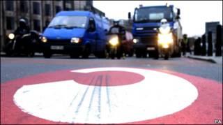 лондонский транспортный поток