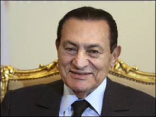 Shugaba Hosni Mubarak na Misra