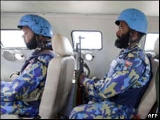 دارفور میں امن فوج