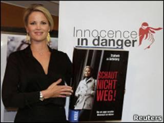 A apresentadora do programa, Stephanie zu Guttenberg (arquivo)