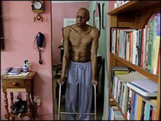 كاد فاريناس يفارق الحياة اثر اضرابه عن الطعام