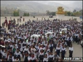 عکس آرشیوی از تظاهرات دانش آموزان
