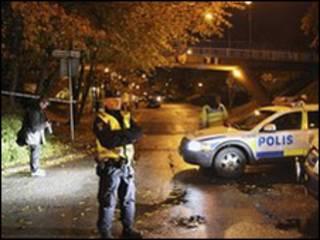 شرطة سويدية