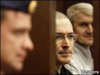 Ходорковский и Лебедев в суде